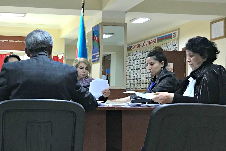 Vote tallying | Azerbaijan Elections | April 2018