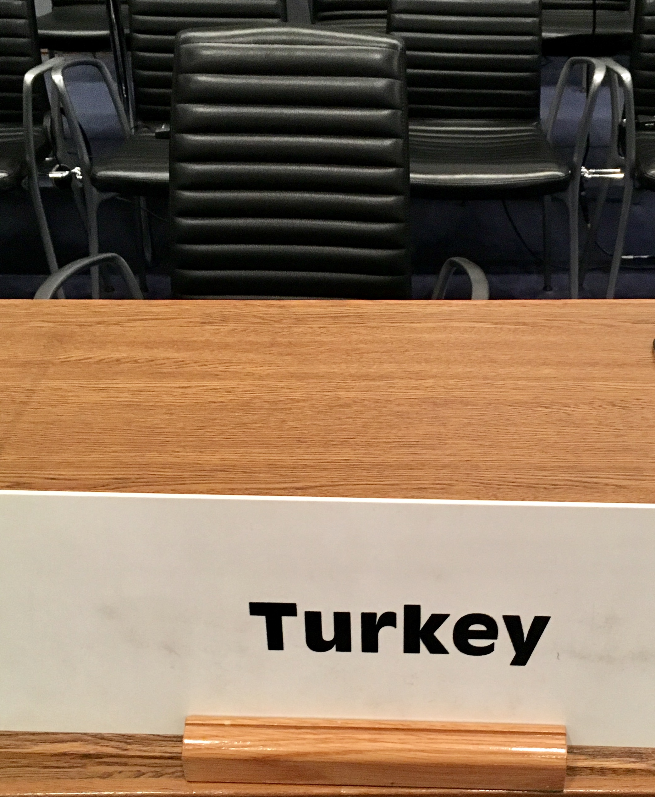 Empty Turkey Seat | OSCE | @017