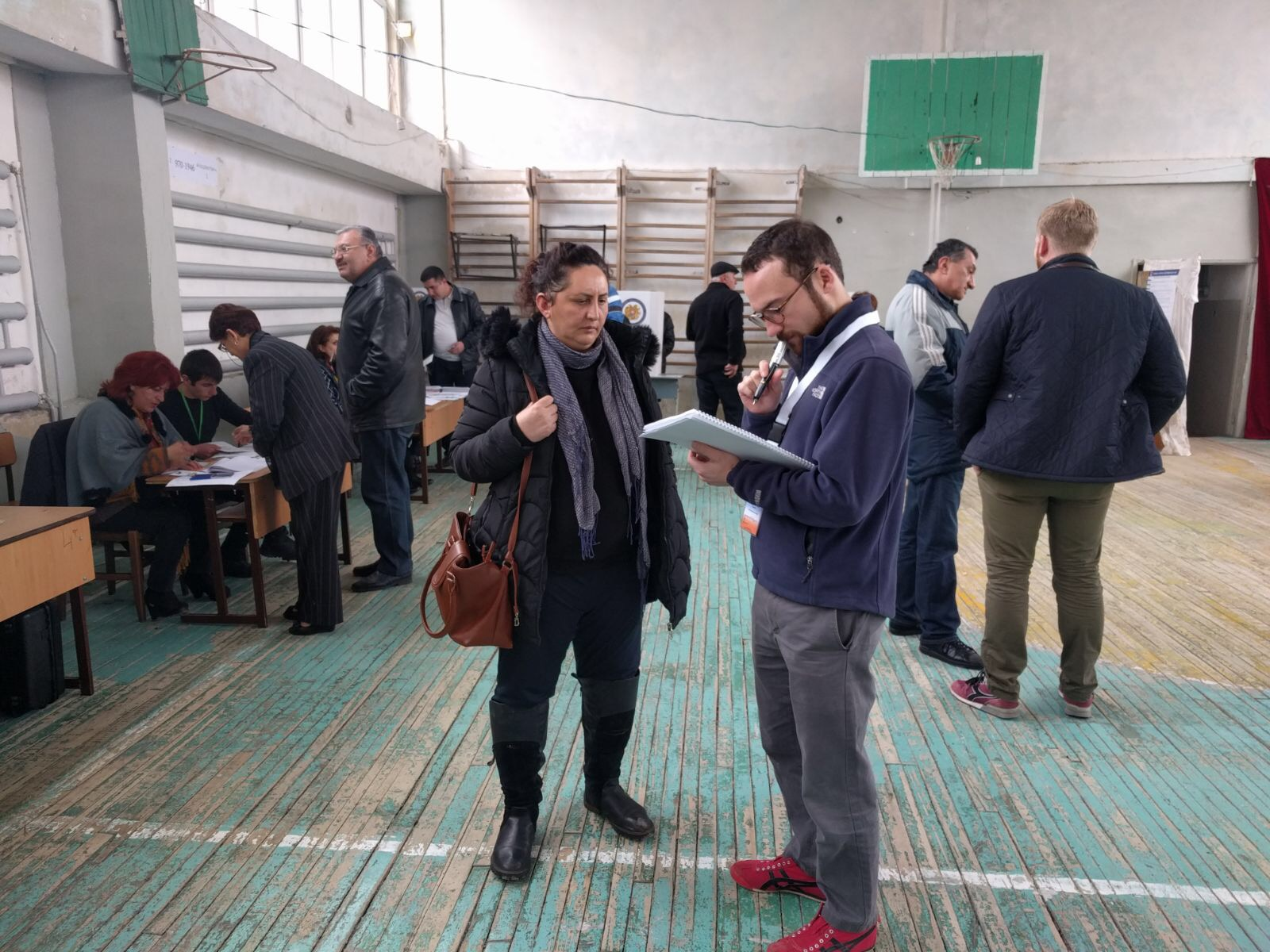 Helsinki Commission policy advisor Everett Price observes elections in Armenia | April 2017