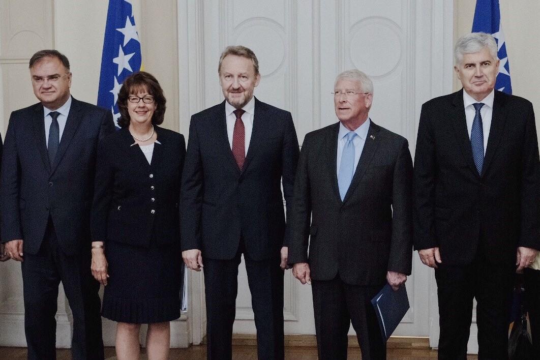 Senator Wicker | Meeting with the Bosnian Presidency | July 3, 2018