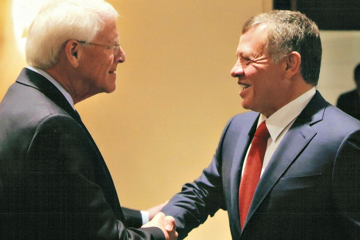 Senator Wicker meets with King Abdullah II
