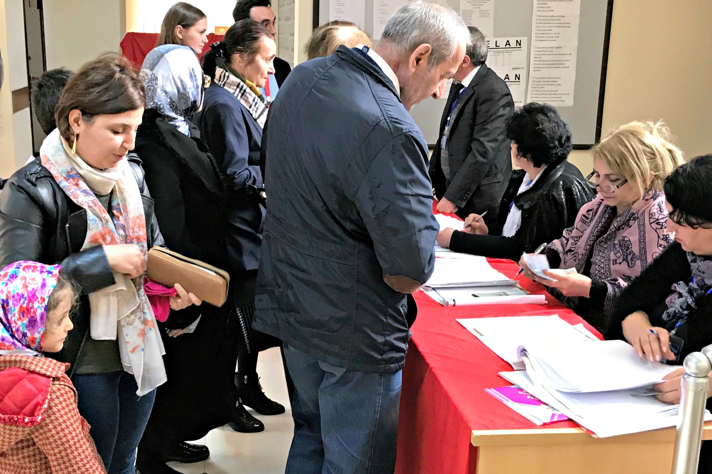 Voting in Progress | Azerbaijan Elections | April 2018