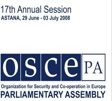 Us Congressional Delegation Visits Kazakhstan For Osce
